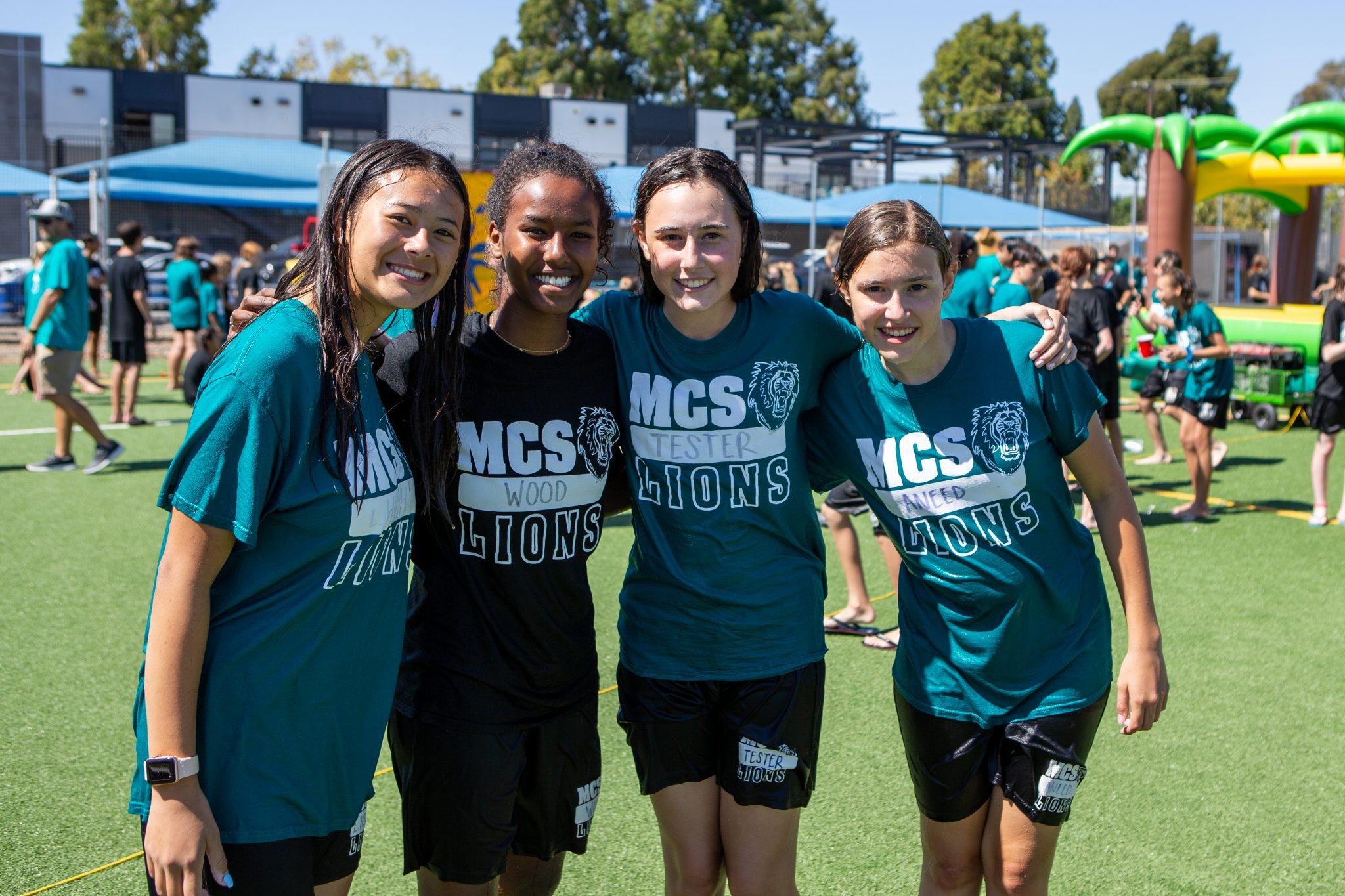 MCS middle school students