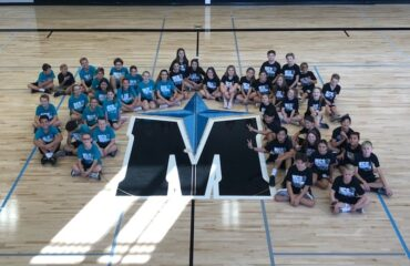 MCS black teal gym