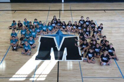 MCS black teal gym